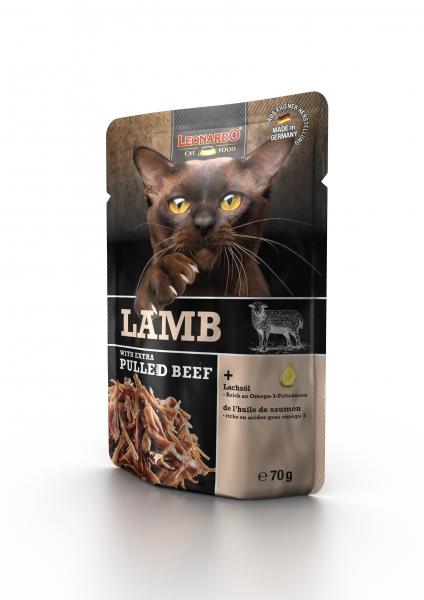 Leonardo Lamb + extra pulled Beef 70g