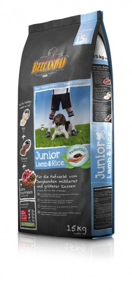 Belcando Junior Lamb & Rice 15 kg