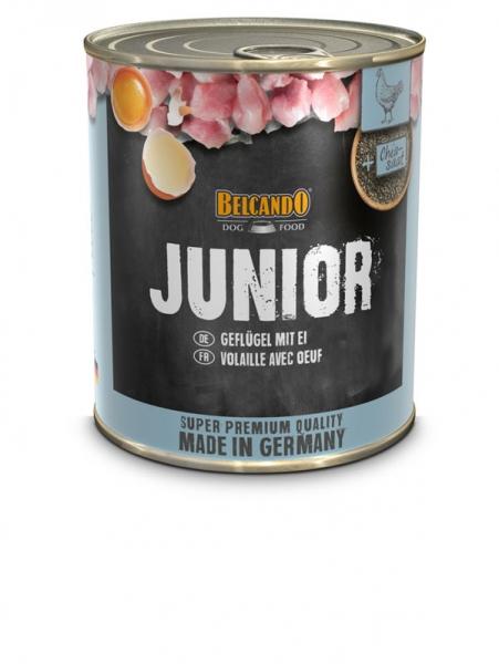 Belcando Junior Geflügel m. Ei 0,8 kg