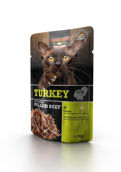 Leonardo Turkey + extra pulled Beef 70g