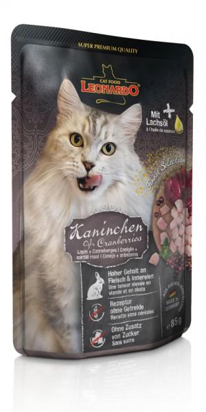 Leonardo Kaninchen und Cranberries Frischebeutel 85g