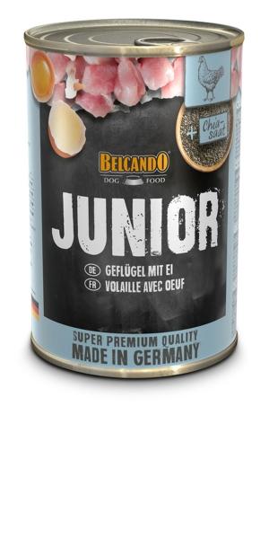 Belcando Junior Geflügel m. Ei 0,4 kg