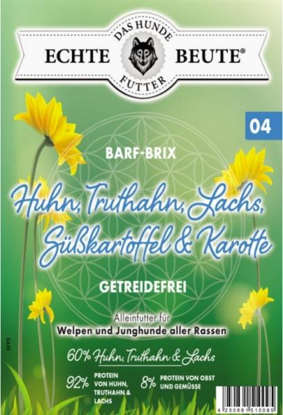 Echte Beute Barf-Brix No.04 Welpen