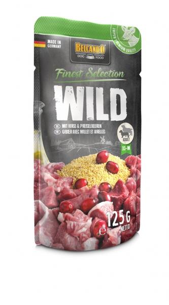 Belcando Wild mit Hirse und Preiselbeeren 125g