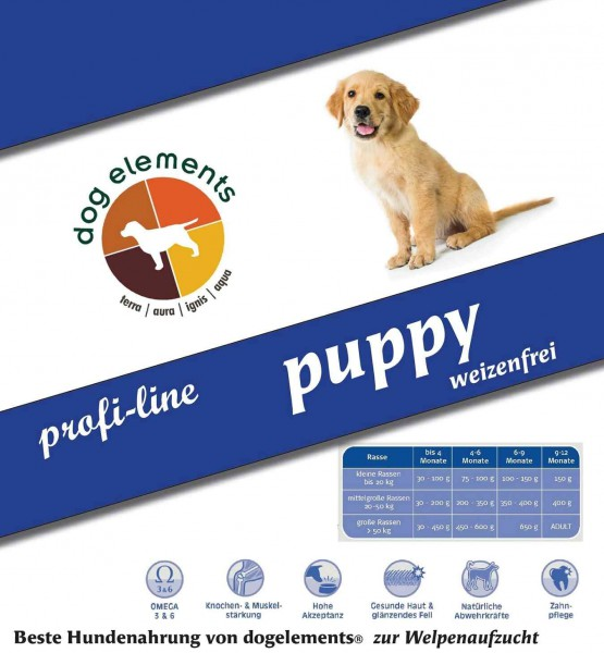 dogelements ProfiLine Puppy 14 kg