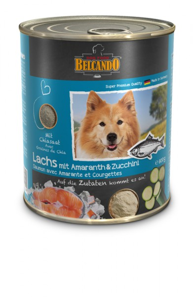 Belcando Lachs mit Amaranth und Zucchini 0,8 kg