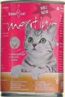 Bewi Cat Meatinis, Geflügel 425 ml